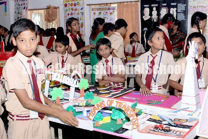 Mega City Residential School-Science Fair
