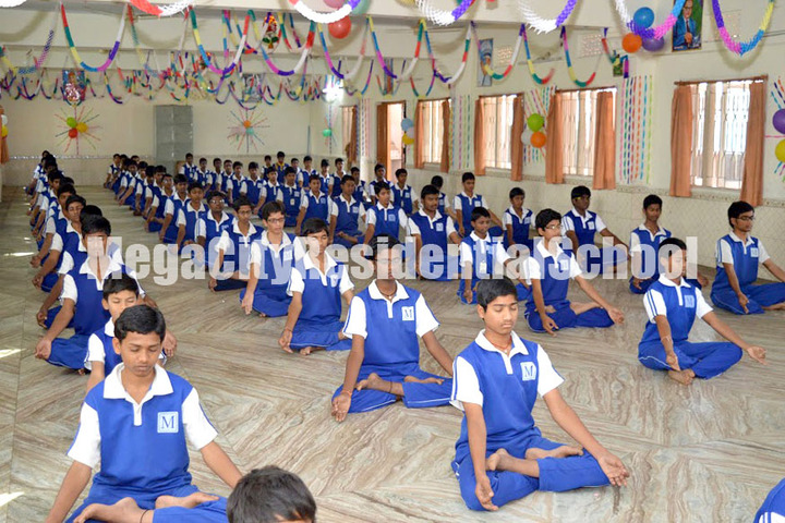 Mega City Residential School-Yoga