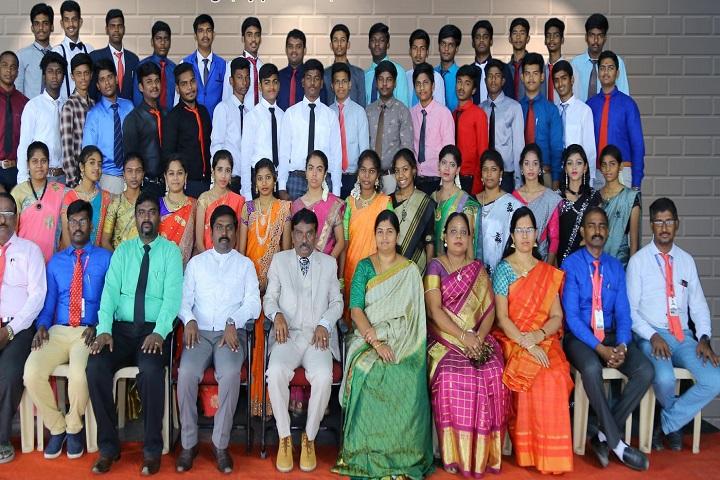 Sri Aurobindo Mira Matriculation Higher Secondary School- Staff And Group Photo