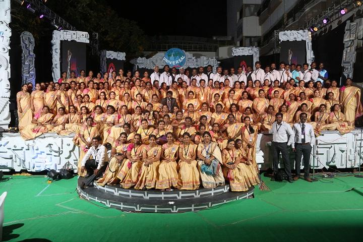 Sri Aurobindo Mira Matriculation Higher Secondary School- Staff Group Photo