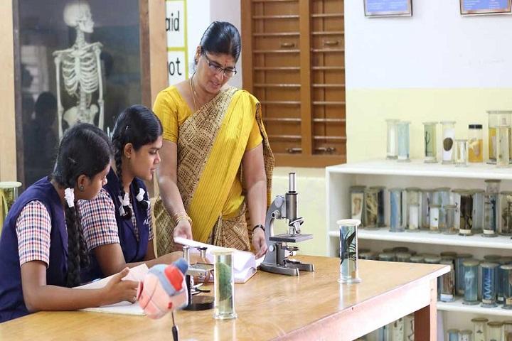 ALG Matriculation Higher Secondary School-Biology Lab