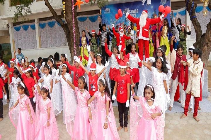 ALG Matriculation Higher Secondary School-Christmas Celebration
