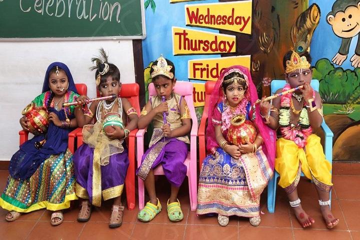 ALG Matriculation Higher Secondary School-Festival Celebration