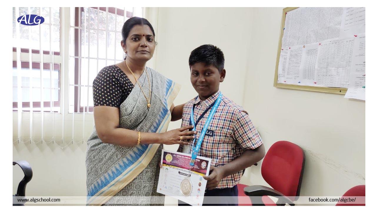 ALG Matriculation Higher Secondary School-Prize