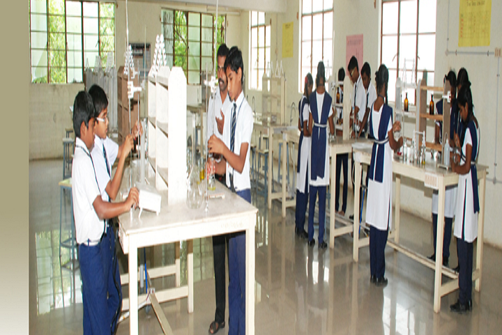 Christ The King Matriculation Higher Secondary School-Chemistry Lab