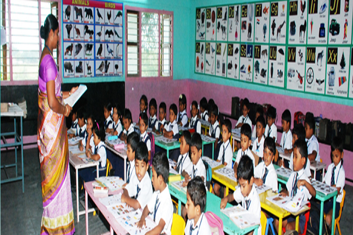 Christ The King Matriculation Higher Secondary School-Class Room