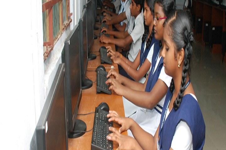 Christ The King Matriculation Higher Secondary School-Computer Lab