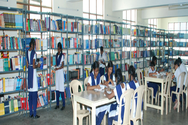 Christ The King Matriculation Higher Secondary School-Library