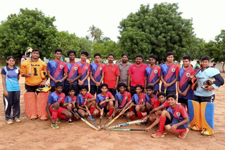 Dr PGV Residentail Co Educational School-Hockey