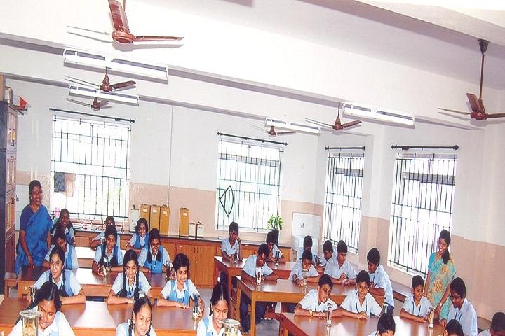 GR Damodaran Matriculation Higher Secondary School-Biology  Lab