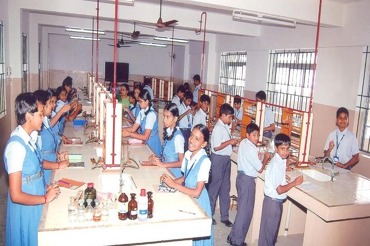 GR Damodaran Matriculation Higher Secondary School-Chemistry Lab