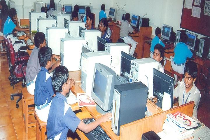 GR Damodaran Matriculation Higher Secondary School-Computer Lab