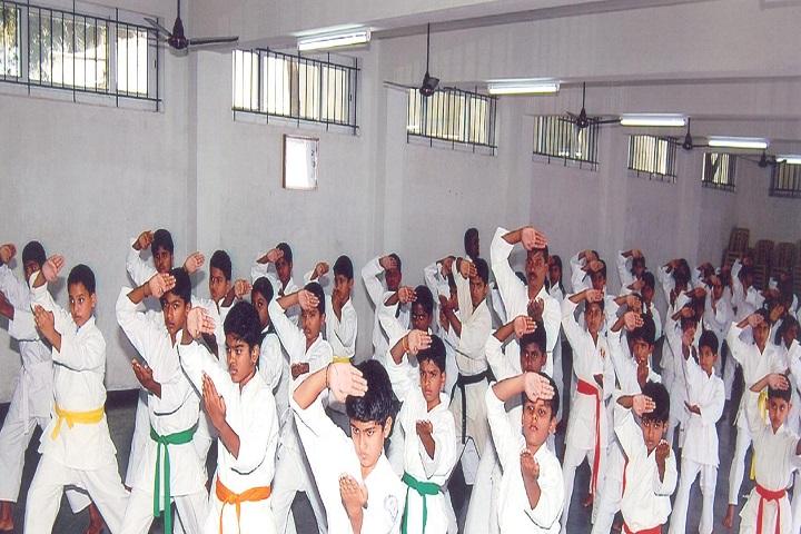GR Damodaran Matriculation Higher Secondary School-Karate