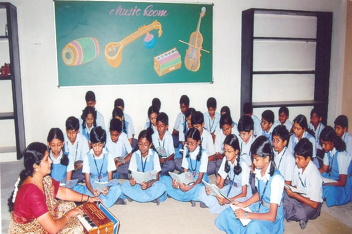 GR Damodaran Matriculation Higher Secondary School-Music Classes