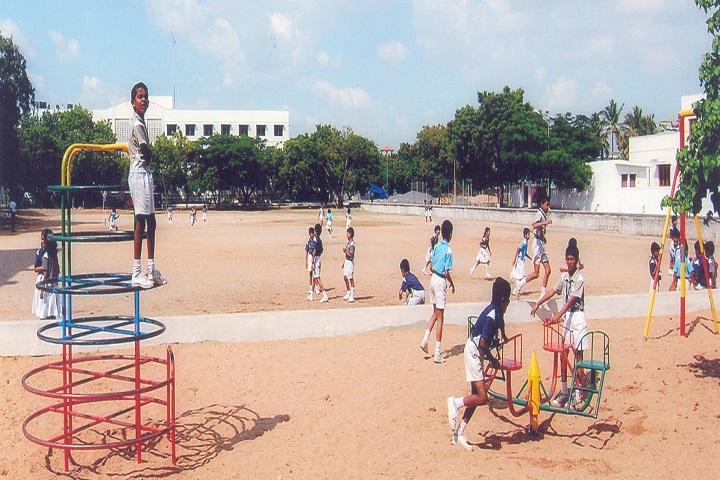 GR Damodaran Matriculation Higher Secondary School-Play Ground