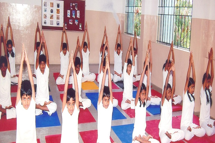 GR Damodaran Matriculation Higher Secondary School-Yoga