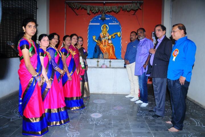 Nrupatunga High School-Festival Celebration