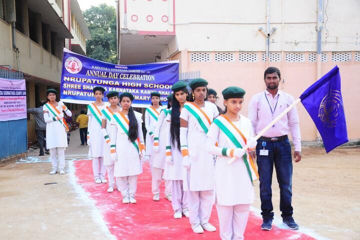 Nrupatunga High School-Republic Day