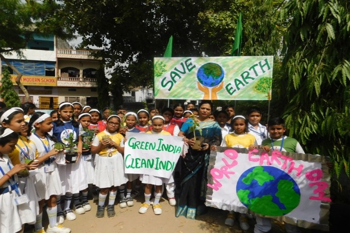 Lucknow Public School-Environment Day