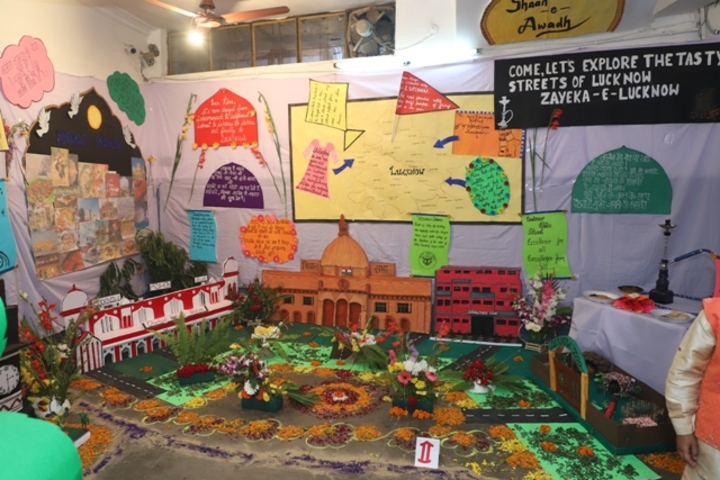 Lucknow Public School-School Exhibition