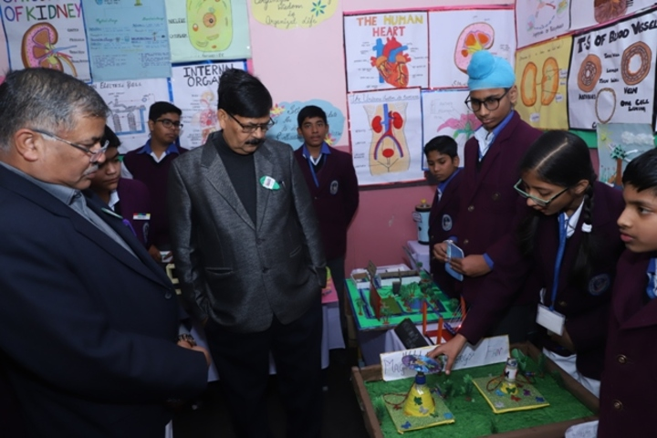 Lucknow Public School-Science Exhibition