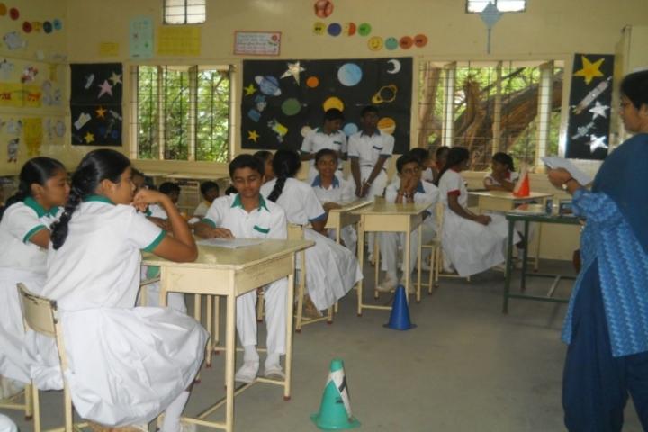 GD Matriculation School-Classrom Activity