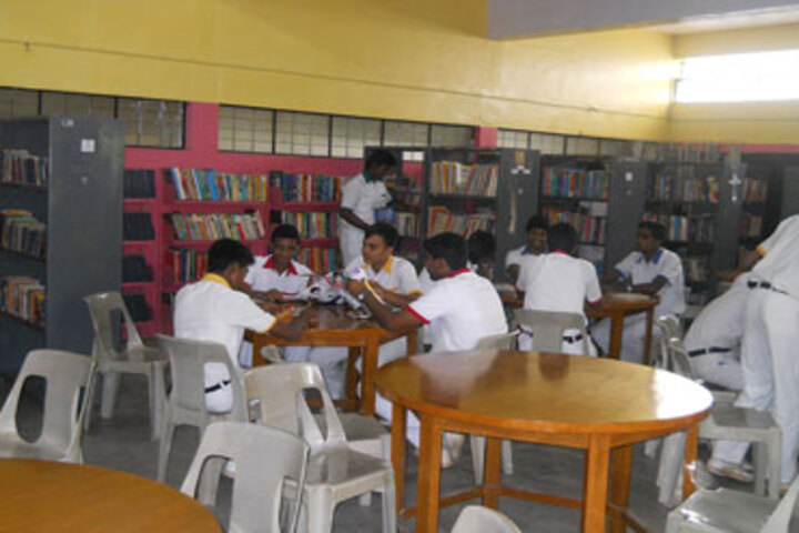 GD Matriculation School-Library