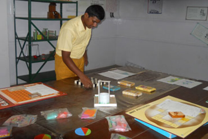 GD Matriculation School-Maths Lab