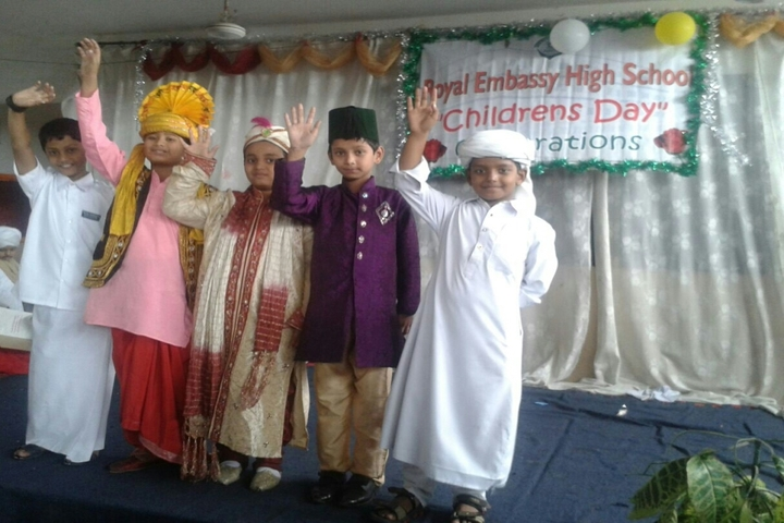 Royal Embassy Boys High School-Childrens Day