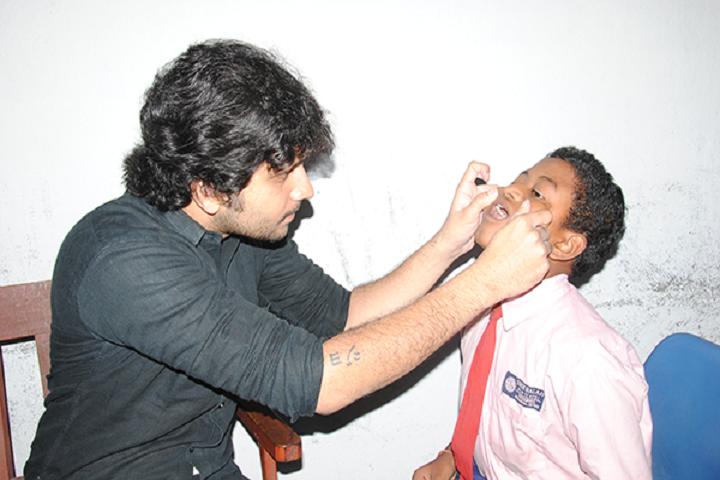 Sree Balaji High School-Dental Check Up