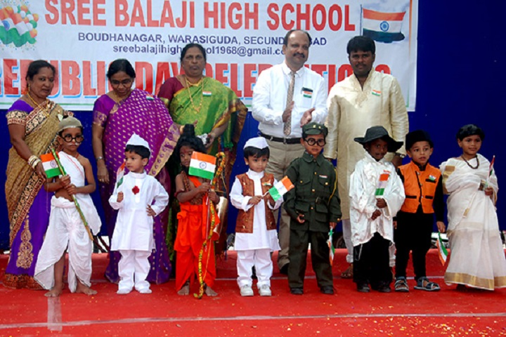 Sree Balaji High School-Fancy Dress Competition