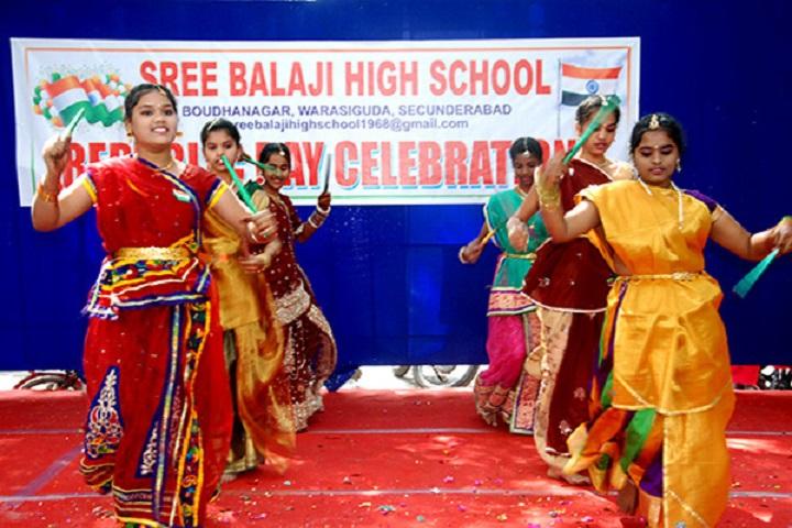 Sree Balaji High School-Group Dance