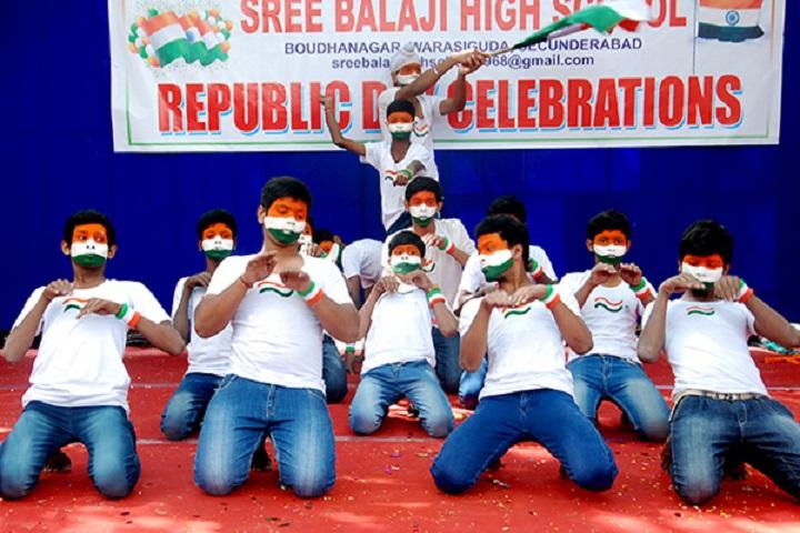 Sree Balaji High School-Republic Day Celebration