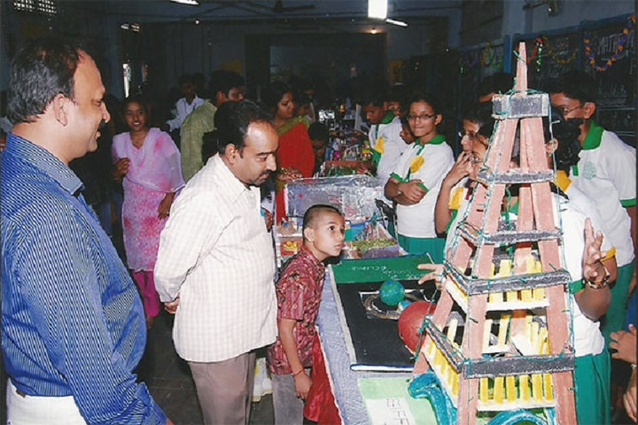 Sree Balaji High School-Science Exhibition