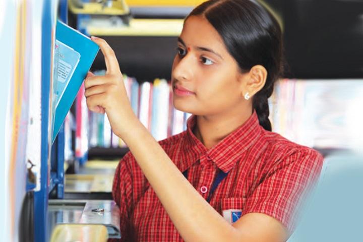 Sri Chaitanya School-Library