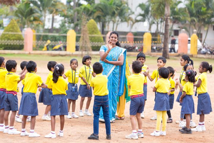Sri Chaitanya School-Nursery Students