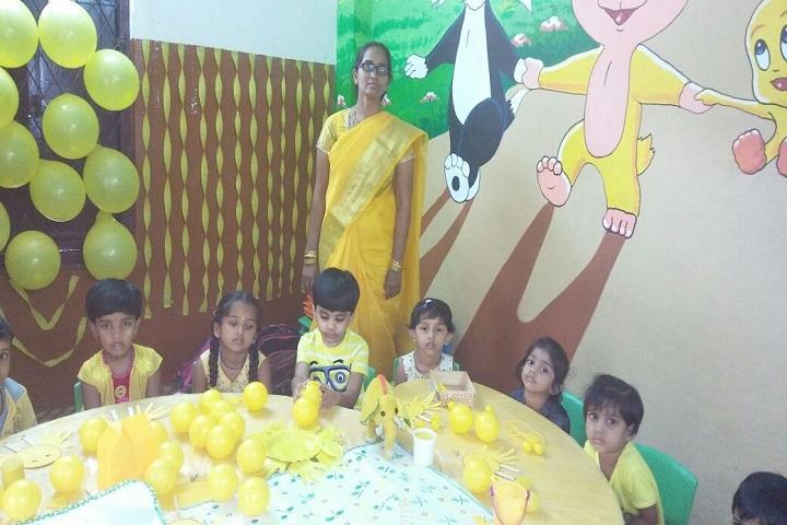 Vani High School-Yellow Day Celebration