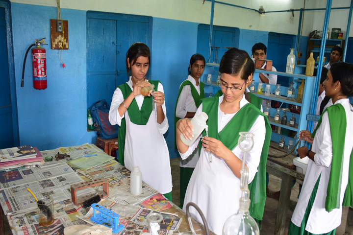 Sehara Bazar Chandra Kumar Institution-Chemistry Lab
