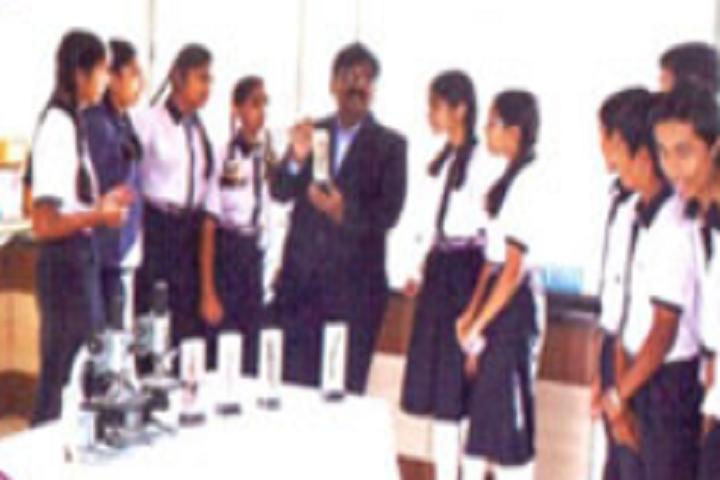 Shree Kisanlalji Bora English Medium School-Biology Lab