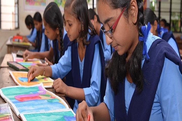 Shree Neminath Jain Secondary and Higher Secondary School-Drawing Hall