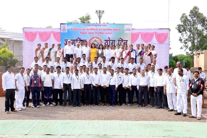 Shree Neminath Jain Secondary and Higher Secondary School-Staff Group Photo