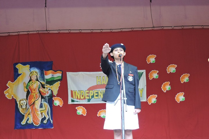 St Xaviers High School-Independence Day Celebration
