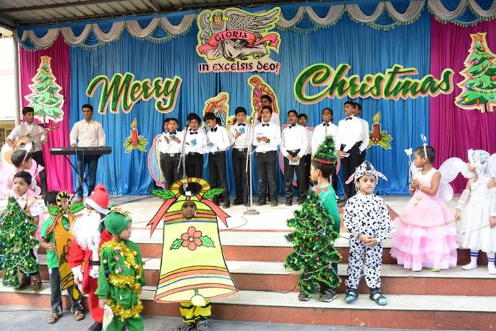 Holy Cross Matriculation Higher Secondary School-Christmas Carnival