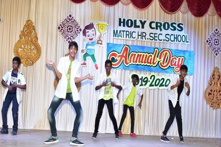 Holy Cross Matriculation Higher Secondary School-Dance