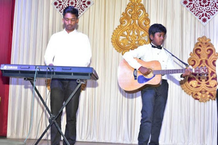 Holy Cross Matriculation Higher Secondary School-Music