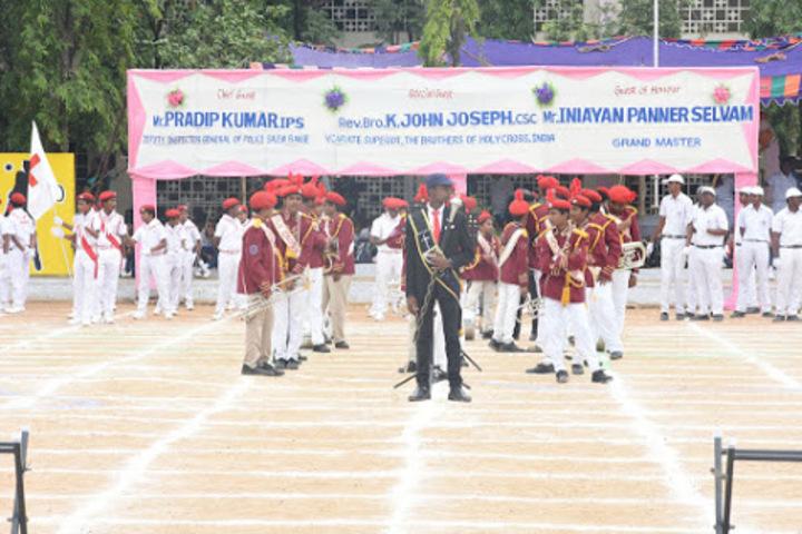 Holy Cross Matriculation Higher Secondary School-School Band