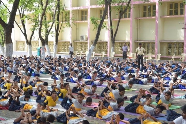 Holy Cross Matriculation Higher Secondary School-Yoga