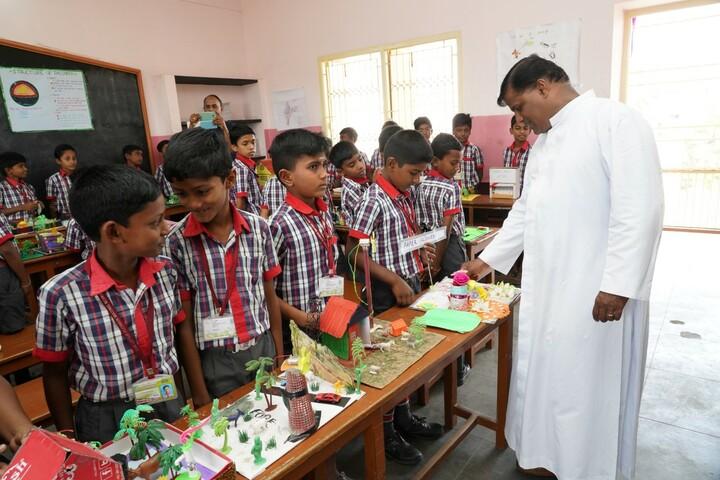 Little Flower Matriculation School-Science Exhibition
