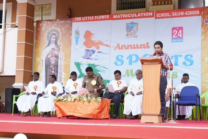 Little Flower Matriculation School-Speech