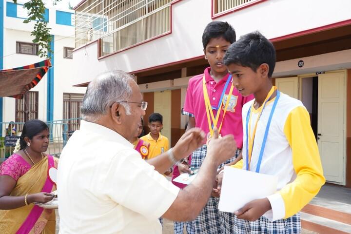 Little Flower Matriculation School-Winners